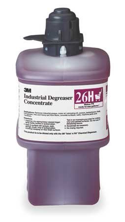 3M 26H Industrial Degreaser,Size 2L,Red by 3M