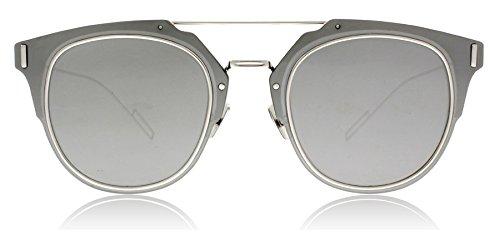 Dior Homme Composit 1.0 010 Palladium Composit 1.0 Round Sunglasses Lens - Dior 1 Sunglasses