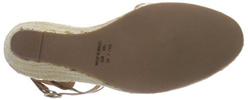 Buffalo London 127.103 Renda Cinghia Sandali Signore Della Caviglia Più Colorati (bianco)