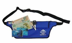 31Orzah7DTL - Aqua Quest AQUAROO Blue Waterproof Running Belt Hidden Wallet for Boating, Kayaking, Biking, Jogging