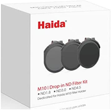 Haida M10 Filtro ND1000 3,0 10 Stop Drop-in Nano-Coating