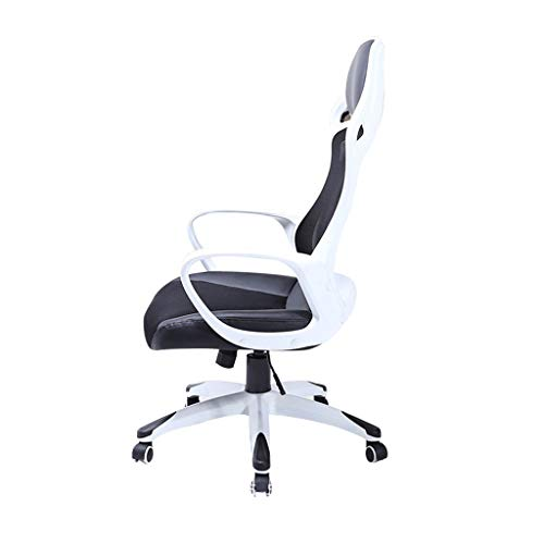 Chair/Network Cloth Chair, Modern Minimalist,Lifting Function,Strong Load-Bearing,Ergonomic, 360-Degree Rotation,High-Elastic Foam Sponge,Suitable for Office Workers,Students ()