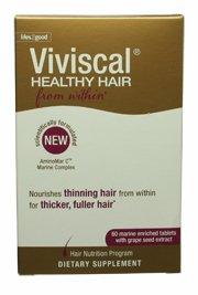 Viviscal supplément pour cheveux en bonne santé 60 Comprimés