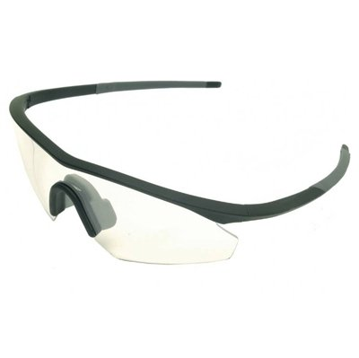 Madison Frame (Madison M-Vision Shields (Compact Frame) Clear Glasses -)