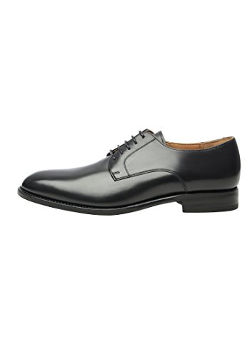SHOEPASSION No. 530 Exklusiver Business, Freizeit- oder Auch Hochzeitsschuh für Herren. Rahmengenäht und Handgefertigt Aus Feinstem Leder. Schwarz