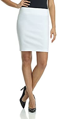 Rekucci Women's Ease Into Comfort Above The Knee Stretch Pencil Skirt 19