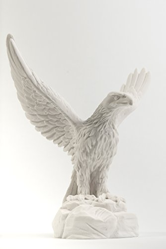 Delphis Alabaster Eagle with Open wings ()