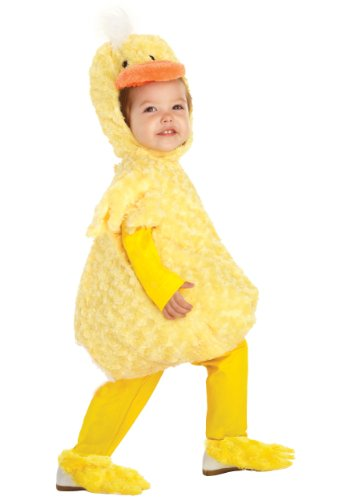 Underwraps Kid's Baby's Duck Costume, Large Childrens Costume,