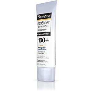 Neutrogena Ultra Sheer Dry-Touch Sunscreen, Broad Spectrum Spf 100, 3 Fl. Oz.