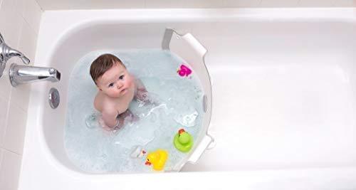 BabyDam Bathwater Barrier, Converts a Standard Non-Textured Bathtub to a Baby Bathtub by Baby Dam (Image #4)