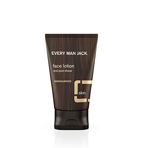 Every Man Jack Face Lotion, Sandalwood, 4.2-ounce