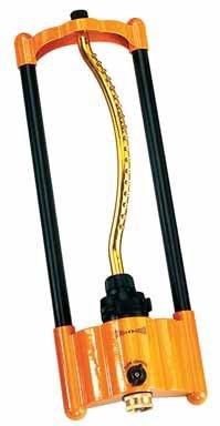 Dramm 10-15004 Grn Premium Metal Oscillating Sprinkler Wi/rass Nozzle Jets