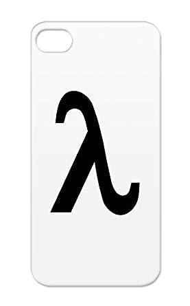 Lambda Black For Iphone 5s Lambda Letter L Greek Letters Symbols