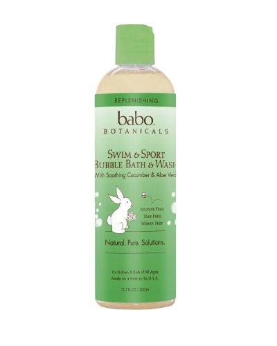 Бабо Botanicals Огурец Алоэ Вера Пополнение Bubble Bath и мыть, 13,5 унция
