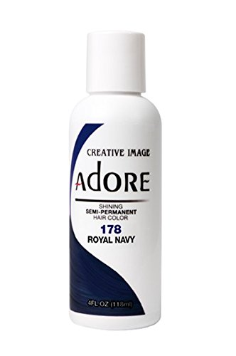 Adore Semi-Permanent Haircolor #178 Royal Navy 4 Ounce (118ml)
