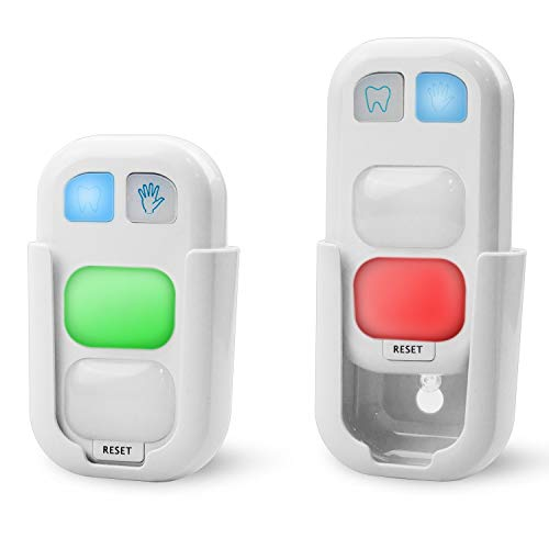 HONWELL Timer for Kids Battery Powered Teeth Brushing Timer and Bathroom Wash