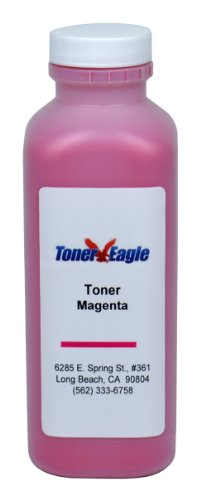 Dell 3110CN 310-8096 XG723 RF013 Magenta Toner Refill Kit with Chip. 160 Grams. By Toner Eagle (Chip Refill Toner Magenta)