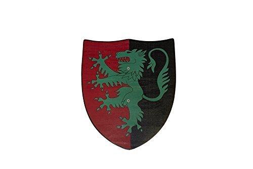 Juguetutto - Escudo León Verde - Juguete de madera