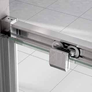 Mampara de Ducha Angular - 2 Hojas Fijas y 2 Hojas Correderas - Cristal de Seguridad de 6 mm -Modelo BERNA Q4: Amazon.es: Bricolaje y herramientas