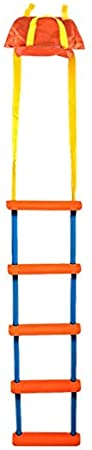 Pactrade Marine Inflatable Boat Kayak Emergency 5-Step Orange Folding Ladder Storage Bag
