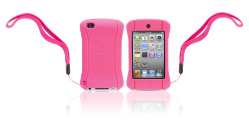 Griffin Technology FlexGrip Action Silicone Case for iPod touch 4G (Pink)