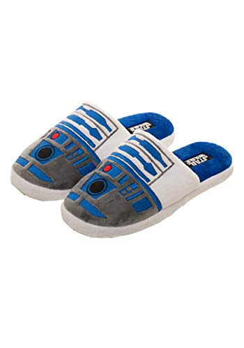 Adult R2D2 Slipper Slides Medium