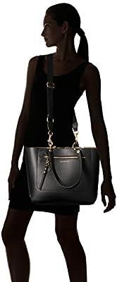 Tommy Hilfiger Item Travel Tote Bag for Women, Tommy Black