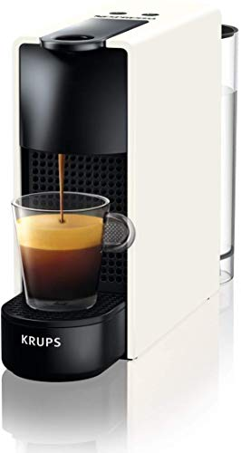 Krups YY2912FD – Cafetera (Independiente, Máquina espresso, 0,6 L, Cápsula de café, 1200 W, Negro, Blanco)