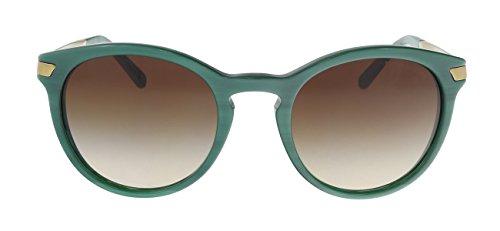 Michael Kors MK2023 318813 Bottle Green Adrianna III Round Sunglasses Lens - Green Kors Michael Sunglasses