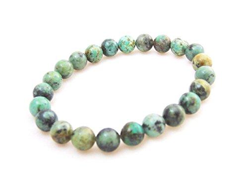 jennysun2010 HandmadeNaturalAfrican (Turquoise Round Beads)
