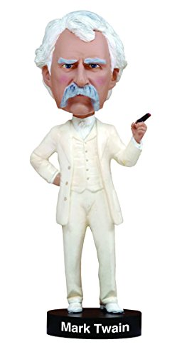 Royal Bobbles Mark Twain Bobblehead