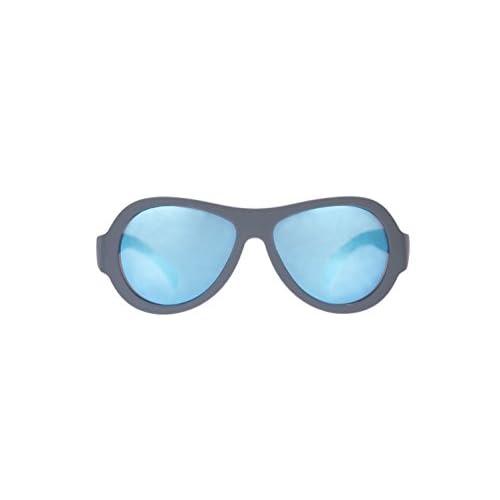 babi ators Unisex Baby Original Aviators UV Gafas de Sol, Unisex bebé, BAB-036/ONESIZE, Acero Azul, 0-2 Años