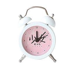 Alarm Clock LITING_Wang Student Bedside Creative Children Small Cute Cartoon Silent Simple Bedroom Mini Loud Table Clock Alarm Table (Color : Pink)
