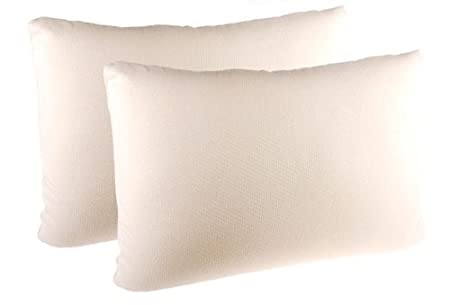 2 memory foam pillows