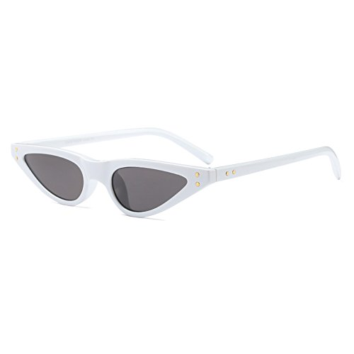 C4 Cat Vintage Sunglasses Sunglasses Mujeres Small hibote Eye UV400 qXgw78nAS