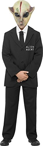 Smiffys Men's Alien Agent (Agent Smith Costume)