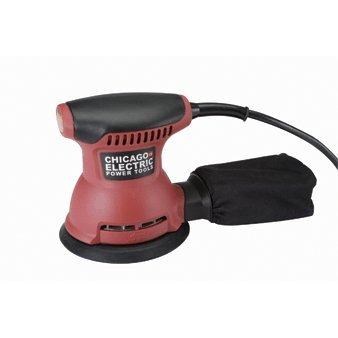"Chicago Electric Power Tools 5"" Random Orbital Palm Sander"