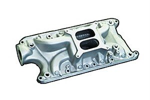Typhoon Manifold (Professional Products 54001 Satin Typhoon Intake Manifold for Small Block Ford)