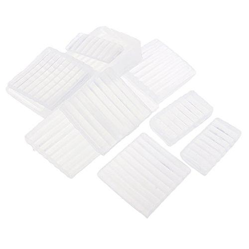 冷淡なブースじゃないSharplace 透明 石鹸ベース せっけん DIY 手作り 石鹸作り 材料 白い石鹸ベース