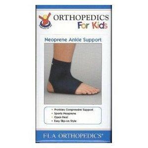 Pediatric & Youth Neoprene Ankle Support Sleeve Brace, FLA,