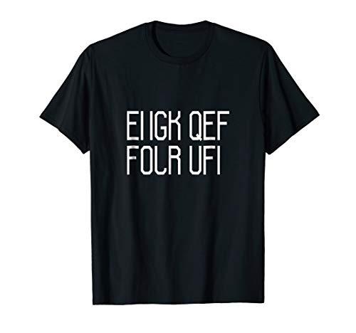 Fuck Off Hidden Message T Shirt