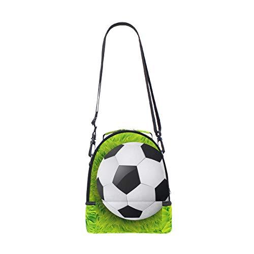 Sac Ball Alinlo lunch Pincnic pour isotherme à avec Cooler Soccer Boîte Tote à réglable bandoulière l'école wrrIfxXOq5