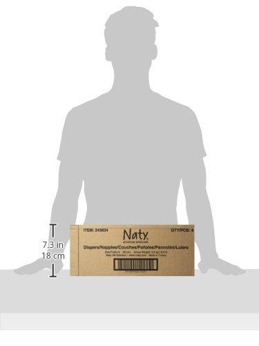 color blanco Naty Eco capa ecol/ógico para beb/é prematuro//reci/én nacido talla 0 4,5 kg 4 unidades