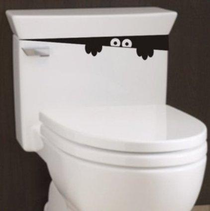 LCsndice Adesivi per bagno WC Decalcomanie per la casa fai da te