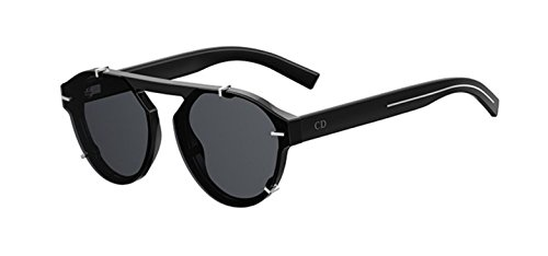 7fd8cbcacdd Christian Dior Dior Abstract 8070T Black Abstract Round Sunglasses ...