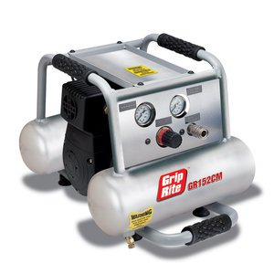Grip Rite Air Compressors - Grip-Rite GR152CM 1.5HP 2 Gallon Twin Tank Compressor