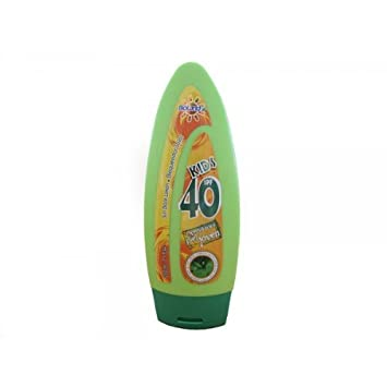 Organic Sunscreen for Kids with Aloe Vera 40 SPF / Bloqueador solar orgánico para niños 40