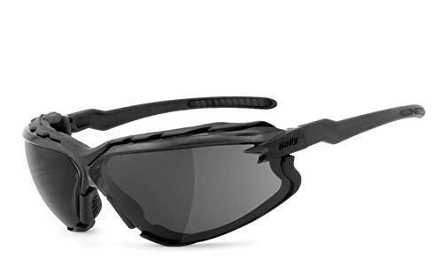 HELLY® – No.1 Bikereyes®   Bikerbrille, Chopperbrille, Motorrad-Sonnenbrille, Motorradbrille   beschlagfrei, winddicht…