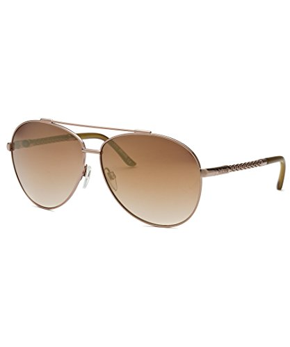 Just Cavalli Women's Aviator Rose-Tone Sunglasses
