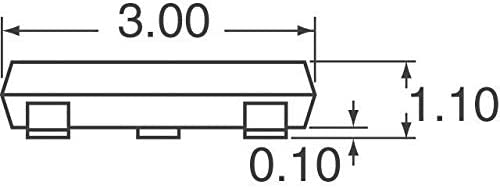 Pack of 100 MMBZ5V6AL-7-F TVS DIODE 3V 8V SOT23-3